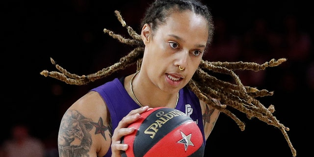 Griner was a runner-up in the WNBA MVP award voting. (AP Photo/John Locher, File)