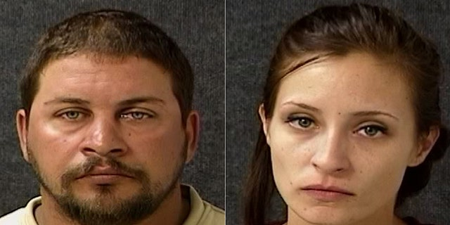 William Swan, left, and Thomasine Radford, right, were among the suspects who allegedly held a man at gunpoint on Sunday before offering him a grilled cheese, according to police.