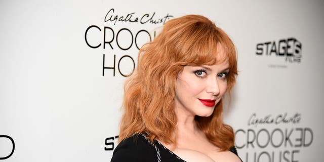 "Christina Hendricks attends the ""Crooked House"" New York Premiere at Metrograph on December 13, 2017 in New York City. (Getty Images)"
