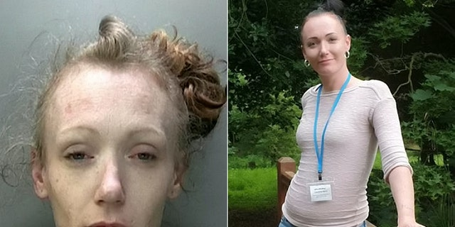 Caroline best, pictured, is now celebrating a year sober and improved health after giving up heroin and crack cocaine.