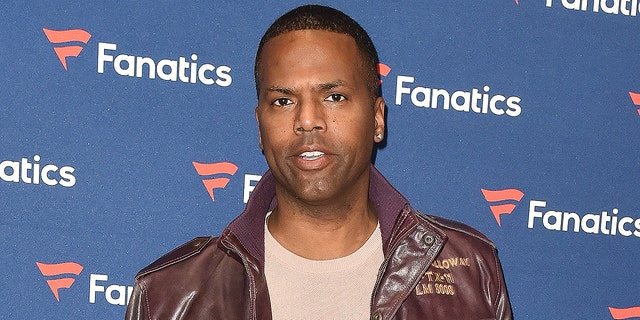 "A.J. Calloway arrives to Michael Rubin's Fanatics Super Bowl Party at the College Football Hall of Fame on Feb. 2, 2019 in Atlanta. Calloway recently parted ways from ""Extra"" following a sexual misconduct investigation."