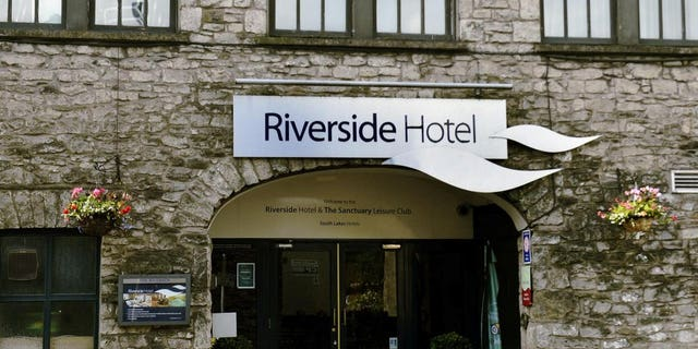 "The Riverside Hotel is a three-star establishment which describes itself as ""great for families."""