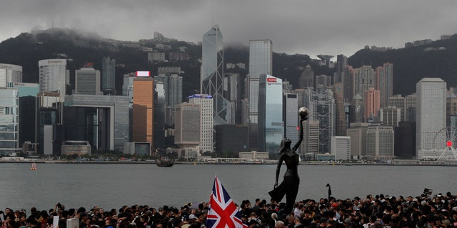 Hong Kong police on Tuesday confirmed it had received a report on Aug. 9, 2019, about a British Foreign Ministry employee who has been missing since crossing into China on a business trip.