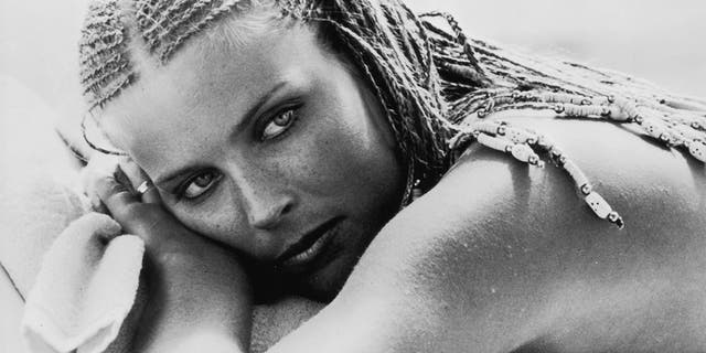 Circa 1979: Actress Bo Derek, star of the comedy film ''10.""