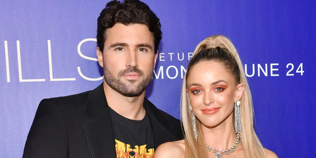 "Brody Jenner and Kaitlynn Carter Jenner attend the premiere of MTV's ""The Hills: New Beginnings"" at Liaison on June 19, 2019 in Los Angeles. The pair split in early August 2019, when it was revealed their marriage was never legal."