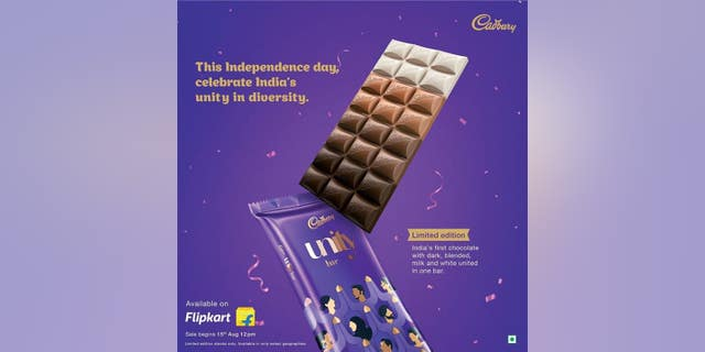 British chocolatier Cadbury is being blasted on social media for releasing a new candy bar which features four types of chocolate — dark, blended, milk and white — to promote diversity.