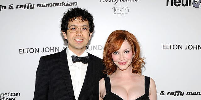 Christina Hendricks was the hand model for 'American Beauty' poster