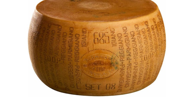 In recent days, the superstore has made headlines for selling a whopping 72-pound wheel of parmigiano reggiano cheese, pictured.