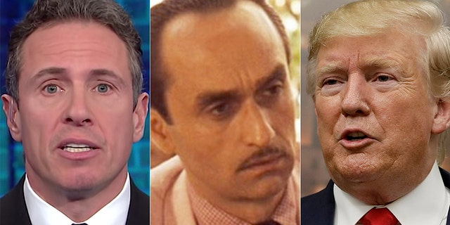President Trump mocked CNN鈥檚 Chris Cuomo by comparing him to Fredo from 鈥淭he Godfather.鈥�