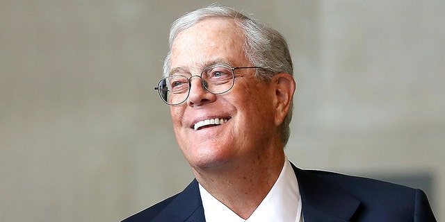NEW YORK, NY - SEPTEMBER 09: David H. Koch attends the unveiling of the David H. Koch Plaza at the Metropolitan Museum of Art on September 9, 2014 in New York City. (Photo by Paul Zimmerman/WireImage)