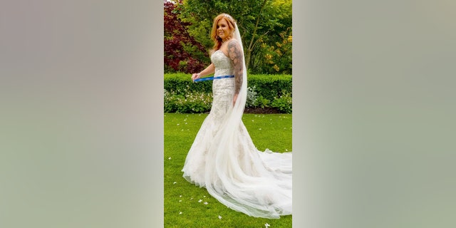 Bride claims she lost 30 pounds before wedding without