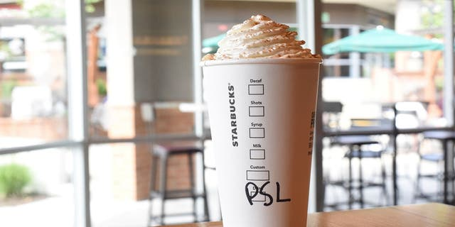 Though Starbucks is staying mum on the matter, rumors are swirling that the legendary Pumpkin Spice Latte drink, pictured, will soon triumphantly return to menus everywhere