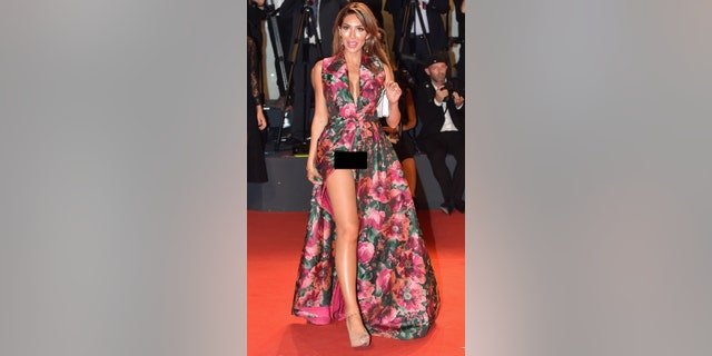 Farrah Abraham donned Christoph Gillard's dress in