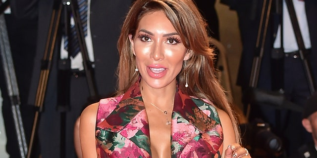 Farrah Abraham walks the red carpet ahead of the