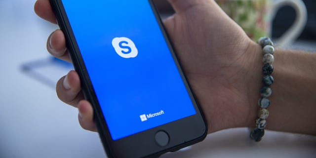 Microsoft is under fire over reports that contract workers can listen in on Skype calls. (Photo by Aytac Unal/Anadolu Agency/Getty Images)