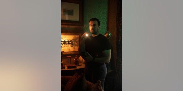 "Mustafa Gatollari stars on A&E's ""Ghost Hunters."" — A&E"