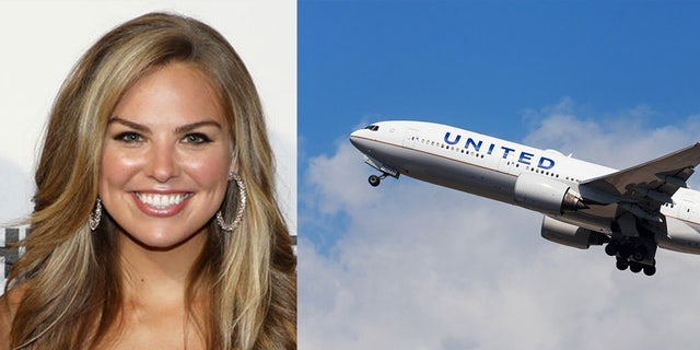 """Though Tyler Cameron didn't ultimately win the heart of Hannah Brown, pictured, the """"Bachelorette"""" runner-up has been offered a complimentary trip from United Airlines to visit his former flame."""