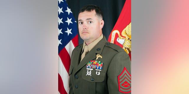 Marine Gunnery Sgt. Scott A. Koppenhafer, 35, was killed in Iraq over the summer by enemy forces, not friendly fire, military officials said.