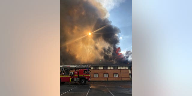 "More than 50 firefighters rushed to the scene in Walsall to fight the huge fire after emergency services were called on Friday.<br data-cke-eol=""1"">"