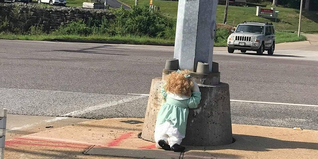 Residents in a Missouri county are getting creeped out over a series of life-sized dolls that have mysteriously started appearing in the area.