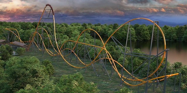 Coaster fanatics can look forward to soaring across 3,000 feet of track and intense features including a 130-foot ascent, 87-degree drop, two inversions, a 180-degree stall and zero-gravity roll.