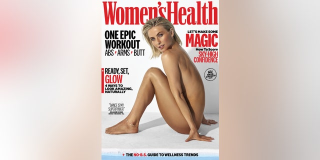 Julianne Hough discussed her sexuality with Women's Health.