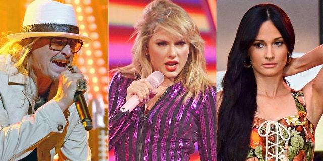 Kacey Musgraves denies liking Kid Rock's tweet dissing Taylor