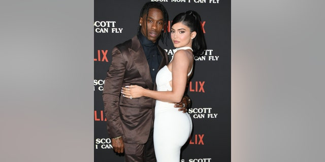 Travis Scott and Kylie Jenner first met at Coachella in 2017, according to People magazine. (Photo by Jon Kopaloff/FilmMagic)