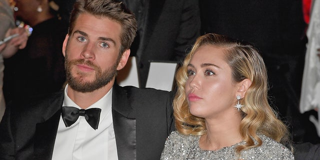 Liam Hemsworth, pictured here with Miley Cyrus in March 2018, spoke out on their separation. The pair married in December 2018 after a decade of on-again-off-again romance. Hemsworth filed for divorce in August 2019.