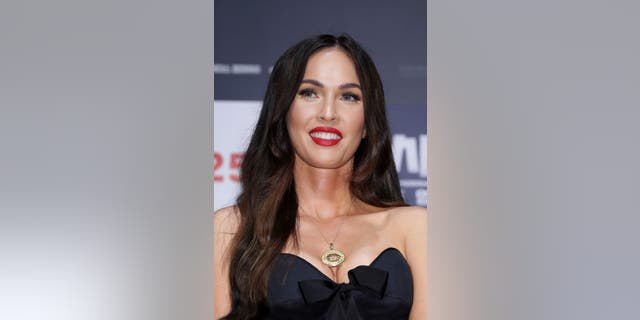 Megan Fox attends the press conference for 'Battle Of Jangsari' on August 21, 2019 in Seoul, South Korea. (Getty)