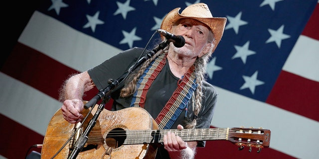 Willie Nelson released an animated music video for his political song 'Vote 'Em Out.'