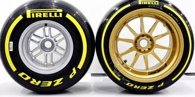 Formula One is making the change from 15-inch to 18-inch wheels in 2021.