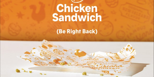 "<a data-cke-saved-href=""https://www.foxnews.com/food-drink/popeyes-chicken-sandwich-a-surprise-hit-we-didnt-expect-this-type-of-reaction"" href=""https://www.foxnews.com/food-drink/popeyes-chicken-sandwich-a-surprise-hit-we-didnt-expect-this-type-of-reaction"" target=""_blank"">Popeyes</a> has revealed the demand for their new Chicken Sandwich has so far exceeded their expectations in the first two weeks after its August 12 nationwide launch that they have sold out."