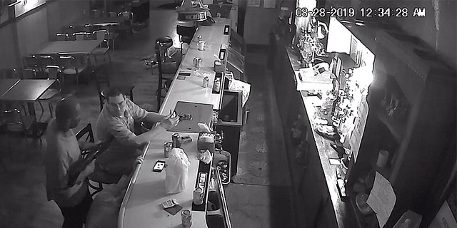 Westlake Legal Group robbery-1-Facebook Video shows St. Louis bar patron calmly lighting cigarette during armed stick-up Robert Gearty fox-news/us/us-regions/midwest/missouri fox-news/us/crime/robbery-theft fox news fnc/us fnc article 3e038e78-8793-5eba-8118-7d43a8de6efd