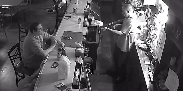 Westlake Legal Group robbery-2-Facebook Video shows St. Louis bar patron calmly lighting cigarette during armed stick-up Robert Gearty fox-news/us/us-regions/midwest/missouri fox-news/us/crime/robbery-theft fox news fnc/us fnc article 3e038e78-8793-5eba-8118-7d43a8de6efd