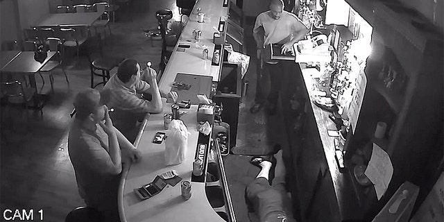 Westlake Legal Group robbery-4-Facebook Video shows St. Louis bar patron calmly lighting cigarette during armed stick-up Robert Gearty fox-news/us/us-regions/midwest/missouri fox-news/us/crime/robbery-theft fox news fnc/us fnc article 3e038e78-8793-5eba-8118-7d43a8de6efd