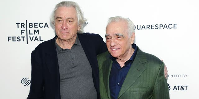 De Niro, left, and Scorsese, right, have worked on many gangster films together over their careers, including