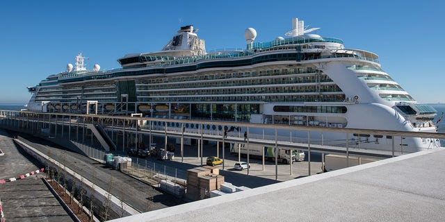 The Royal Caribbean's MS Jewel of the Seas left from Rome on August 25 as scheduled. The family was forced to stay behind after their safe -- filled with their passports, IDs and cash -- was stolen from their hotel room.