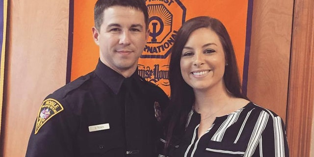 Krissy Tuder says Sean's career choice of being a police officer was 'definitely his calling.'