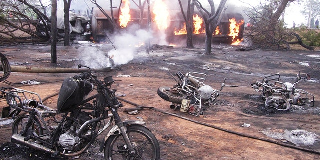 Westlake Legal Group tanzania-1-AP Tanker truck in Tanzania explodes as people siphon fuel, at least 62 killed Lukas Mikelionis fox-news/world/world-regions/africa fox-news/world/disasters fox news fnc/world fnc e29d12ae-6658-5177-a41f-db565f803ef3 article