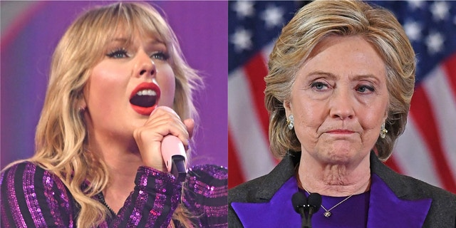 Taylor Swift said she remained silent on politics in the 2016 election to avoid hurting Hillary Clinton's campaign.
