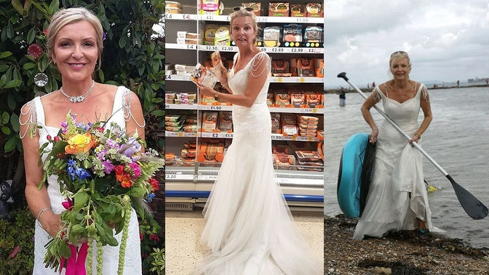 Thrifty bride keeps wearing $365 wedding dress to get her 'money's worth'