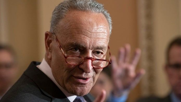 Schumer to ask Trump to divert $5 billion in border wall funding to fight gun violence, white-supremacy ext...