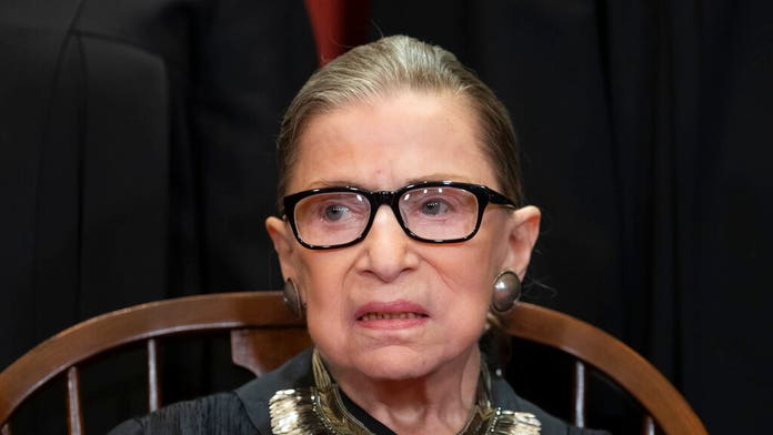 Ruth Bader Ginsburg treated for malignant tumor on pancreas, Supreme Court says