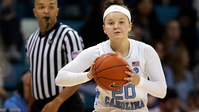 North Carolina Tar Heels basketball player Leah Church goes viral for incredible trick shot