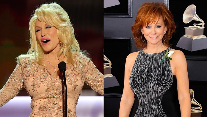 Dolly Parton and Reba McEntire replace Brad Paisley at CMA Awards, join Carrie Underwood as co-host