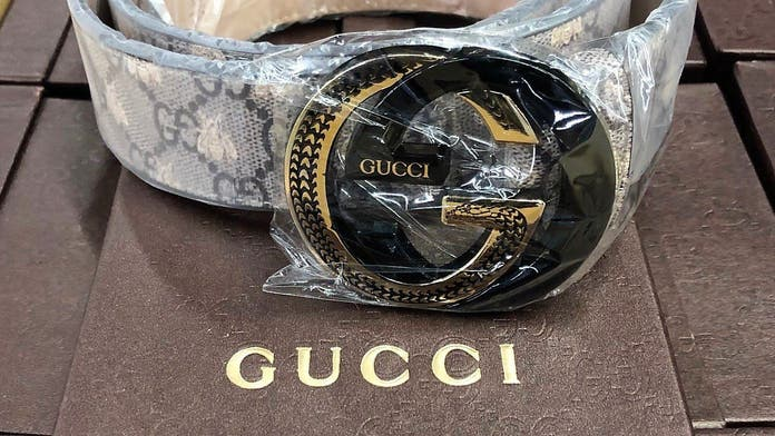$3.4M in fake Gucci, Hermes, Nike items seized at LA airport, CBP says
