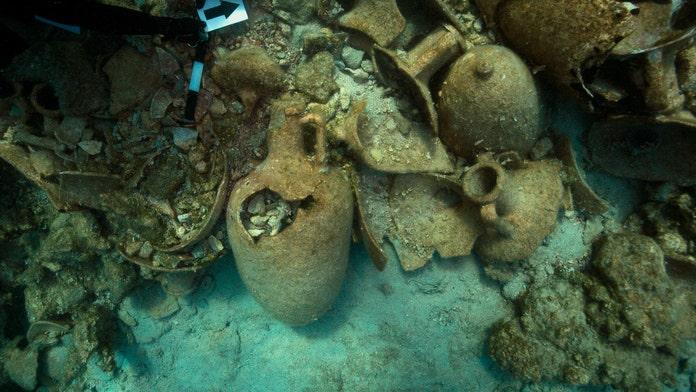 Stunning cargo-laden ancient shipwrecks discovered off Greek island