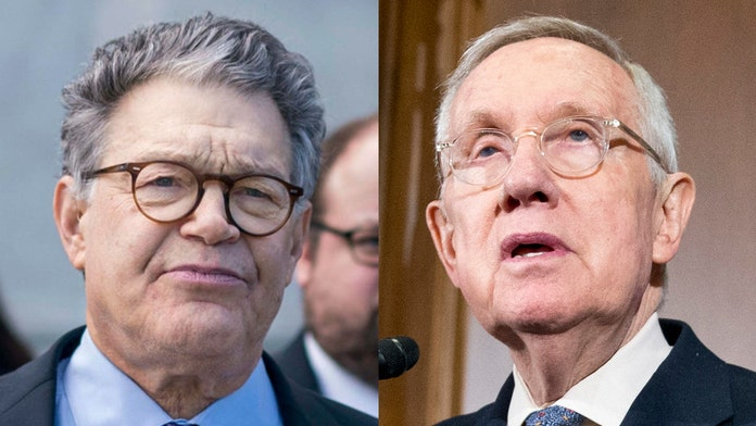 Harry Reid says he wishes Al Franken would run for office again