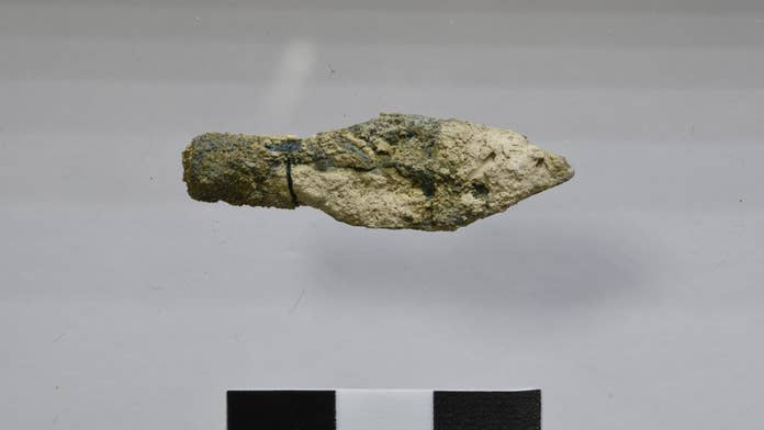 Ancient arrowheads from the Babylonian destruction of Jerusalem discovered
